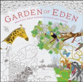 Garden of Eden: Beautiful Bible Scenes to Color and Inspire - Slightly Imperfect