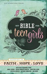 NIV Bible for Teen Girls: Growing in Faith, Hope, and Love - eBook