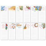 Coastal Memo Pads, Set of 12
