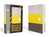 NIV Boys Backpack Bible, Compact, Imitation Leather