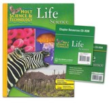 Holt Science & Technology: Life Science Homeschool Package with Parent Guide CD-ROM