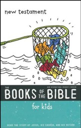 NIrV The Books of the Bible for Kids: New Testament, Softcover