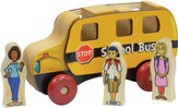 Mighty Driver Wooden School Bus with Driver and Children