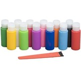 Camp Moose on the Loose: Sun Catcher Glitter Paint (pkg. of 12)