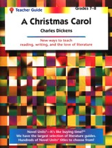 A Christmas Carol, Novel Units Teacher's Guide, Grades 7-8