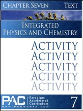 Integrated Physics and Chemistry Activity Booklet, Chapter 7