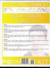 Basic Math Skills Full Course Kit