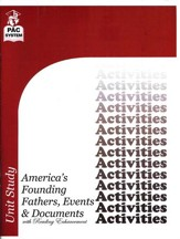 America's Founding Fathers, Events & Documents  Activities Booklet