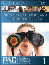 Principles, Theories & Precepts of Biology Chapter 1 Student Text