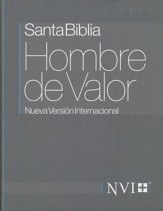 Santa Biblia NVI Hombre de Valor, Enc. Dura  (NVI Man of Valor Bible, Hardcover) - Imperfectly Imprinted Bibles