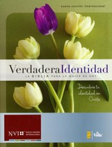 Verdadera Identidad NVI: La Biblia para la Mujer de Hoy, Enc. Dura  (NVI True Identity: The Bible for Women, Hardcover) - Imperfectly Imprinted Bibles