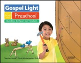 Gospel Light: Pre-K/Kindergarten Ages 4 & 5 Teacher's Guide, Fall 2020 Year B
