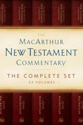 The MacArthur New Testament Commentary Set of 33 volumes - eBook