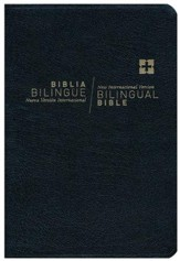 NVI/NIV Biblia bilingue Nueva Edicion Indice, Imitacion Cuero Negro (NVI/NIV Bilingual Bible, Indexed, Imitation Leather Black)