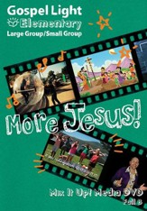 Gospel Light: Elementary Grades 1-4 Large Group Mix it Up! DVD, Fall 2018 Year B - Slightly Imperfect