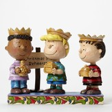 Peanuts, Three Wise Men, Practice Makes Perfect Figurine