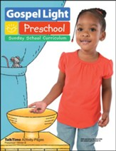 Gospel Light: Preschool TalkTime Activity Pages Ages 2 & 3 Winter 2016-17 Year B