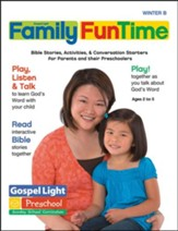 Gospel Light: Preschool-Kindergarten Family FunTime Pages, Winter 2020-21 Year B