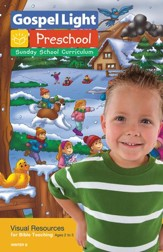 Gospel Light: Preschool Visual Resources For Bible Teaching Ages 2 - 5 Winter 2016-17 Year B