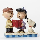 Peace on Earth, Snoopy and Charlie Brown, Peanuts by Jim Shore