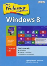 Professor Teaches Windows 8 on CD-Rom