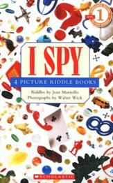 I Spy: 4 Picture Riddle Books (Level 1)