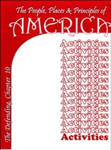 The People, Places and Principles of America; Activity Book Chapter 10