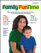 Preschool/Pre-K Family FunTime Pages Ages 2-5, Summer 2017, Year B
