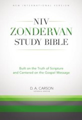 NIV Zondervan Study Bible: Built on the Truth of Scripture and Centered on the Gospel Message - eBook