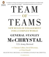 The Team of Teams: The Power of Small Groups in a Fragmented World Audio CD