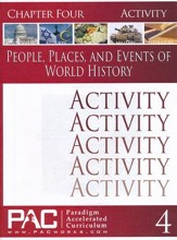 People. Places, & Events of World History Chapter 4 Activities