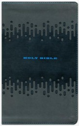 KJV Bible for Kids Charcoal, Imitation Leather