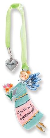 Precious Gift, Keepsake Angel with Daughter Charm