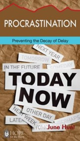 Procrastination: Preventing the Decay of Delay - eBook
