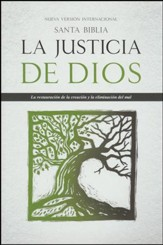 Santa Biblia La Justicia de Dios NVI, Enc. Dura  (NVI God's Justice Holy Bible, Hardcover) - Slightly Imperfect