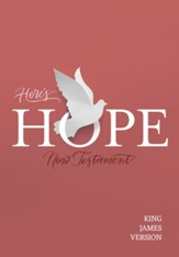 KJV Here's Hope New Testament, Softcover