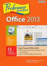 Professor Teaches Office 2013 CD-ROM