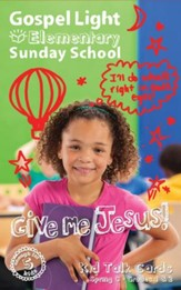 Gospel Light: Elementary Grades 1 & 2 Kid Talk Cards, Spring 2018 Year C
