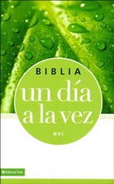Biblia NVI Un Día a la Vez, Enc. Rústica  (NVI Once-a-Day Bible, Softcover) - Imperfectly Imprinted Bibles