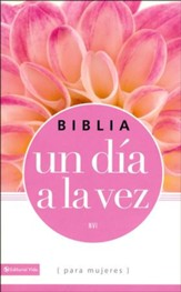 Biblia un Día a la Vez NVI para Mujeres  (NVI Once-A-Day Bible for Women) - Imperfectly Imprinted Bibles
