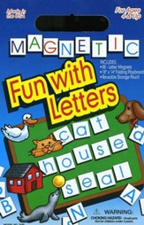 Magnetic Fun with Letters