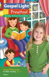 Gospel Light: Preschool-Kindergarten Ages 2-5 Visual Resources, Spring 2018 Year A