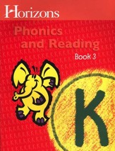Horizons Phonics & Reading, Grade K, Student Workbook 3