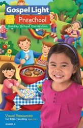Gospel Light: Preschool-Kindergarten Ages 2-5 Visual Resources, Summer 2018 Year A