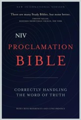 NIV Proclamation Bible: Correctly Handling the Word of Truth - eBook