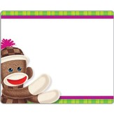 Sock Monkeys Name Tags (Pack of 36)
