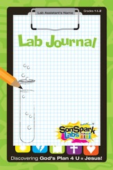 VBS 2015 SonSpark Labs - Lab Journal (Grades 1-2/Ages 6-8) /   5 Pack