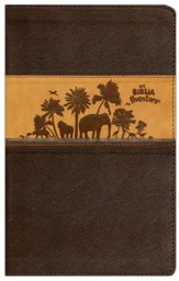Biblia Aventura NVI, Piel Simil, Chocolate/Carmelo  (NVI Adventure Bible, Imitation Leather, Chocolate/Toffee)