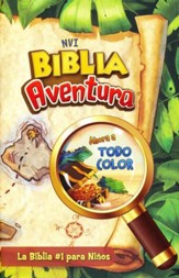 Biblia Aventura NVI, Enc. Dura  (NVI Adventure Bible, Hardcover) - Slightly Imperfect