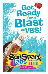 VBS 2015 SonSpark Labs - Bulletin Insert, Pack of 100